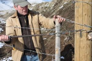 "The advantage of a stretch wire gate ""cheater-bar latch"