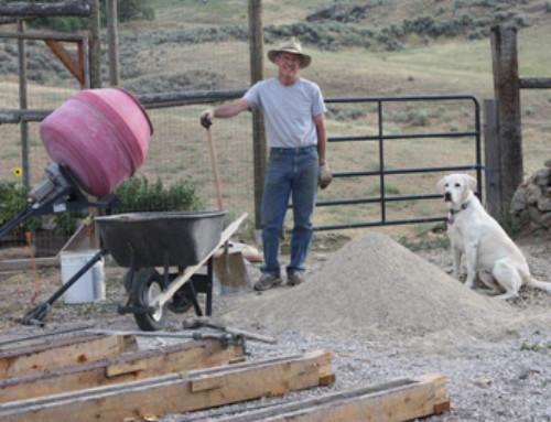 Constructing concrete fence posts – Part 2 – Entry #215