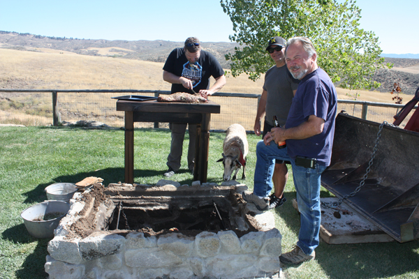 New deep-pit BBQ at Timber Butte