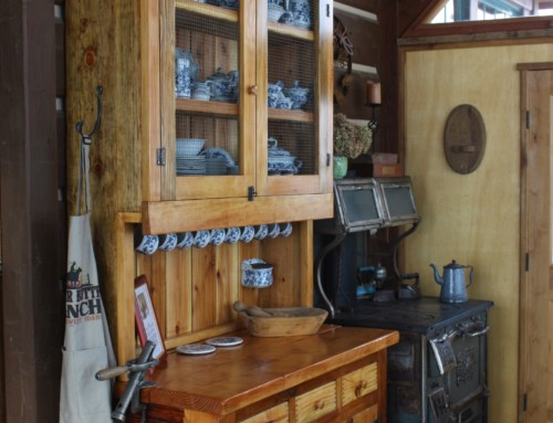 Nancy's Barn-wood China Hutch