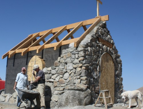 Chapel at Timber Butte – Part 2 –  A labor of love